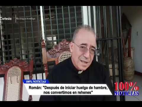 Padre Edwin Román regresa a la Iglesia San Miguel Arcángel después de haber estado 8 días como rehén