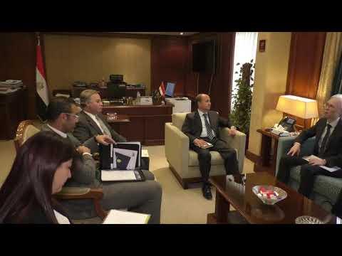 لقاء الوزير / عمرو نصار مع سفير اليابان بالقاهرة