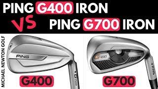 Ping G700 Iron V Ping G400 Iron