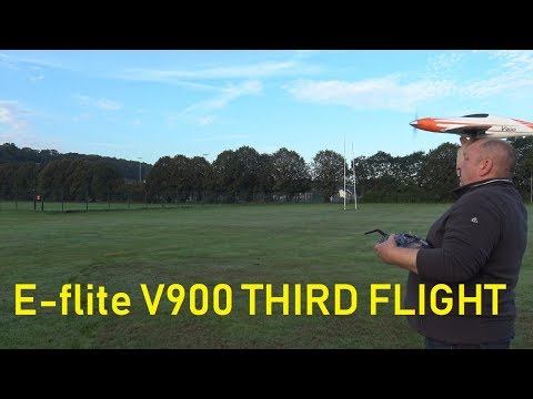 e-flite-v900-third-flight