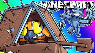 Minecraft Funny Moments   Pillager Revenge Raid!