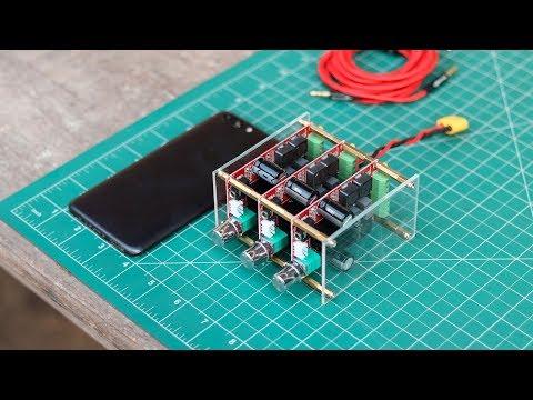 DIY 300 Watt 5.1 Audio Amplifier