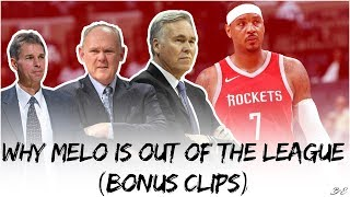 Why Carmelo Is Out Of The League (BONUS CLIPS) ©