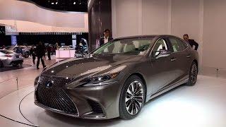 2018 Lexus LS500 – Redline: First Look – 2017 NAIAS