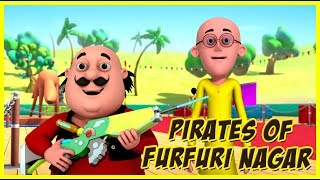 Motu Patlu | Pirates Of Furfuri Nagar | Motu Patlu in Hindi