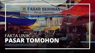 Potret Pasar Tomohon, Surganya Kuliner Ekstrem di Manado