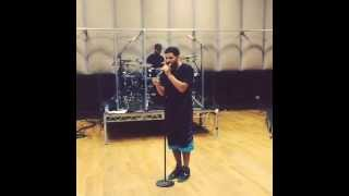 Drake singing/Drake's Rehearsal for H.A.W