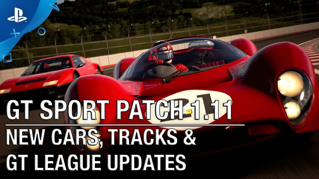 Gran Turismo Sport Patch 1.11 Goes Live Jan. 26, Featuring New Cars, Tracks, GT League Updates