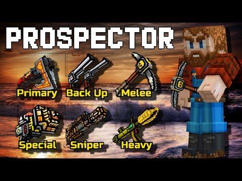 Prospector Set - Pixel Gun 3D