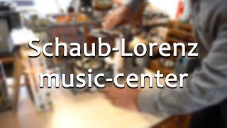 45 Stunden auf Tonband?! - das Schaub-Lorenz music-center    Meister Jambo