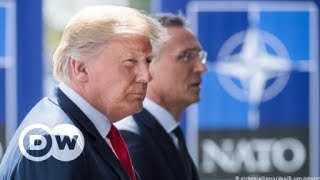 Friendly fire: How united Is NATO with Trump? | DW English