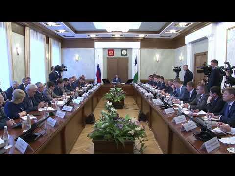 Оперативное совещание в Правительстве Республики Башкортостан от 28 января 2019 года