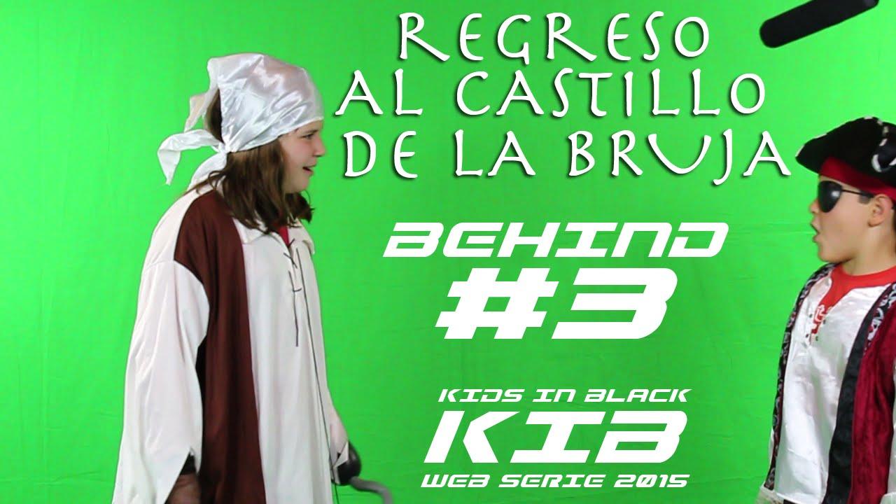 Regreso al Castillo de la Bruja -  Kids In Black 2015 - Detrás de las cámaras #3