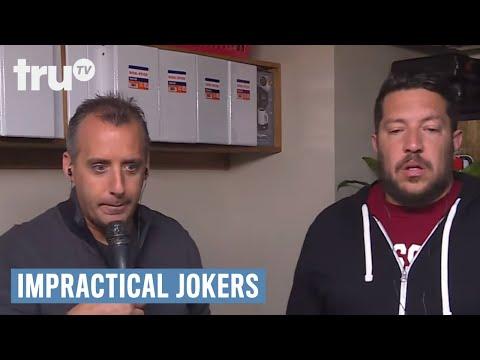 Impractical Jokers - Murr's Flag Pocket Challenge | truTV