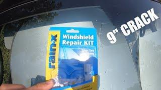 Rain-X Windshield Repair Kit - Trying To Repair Large Crack