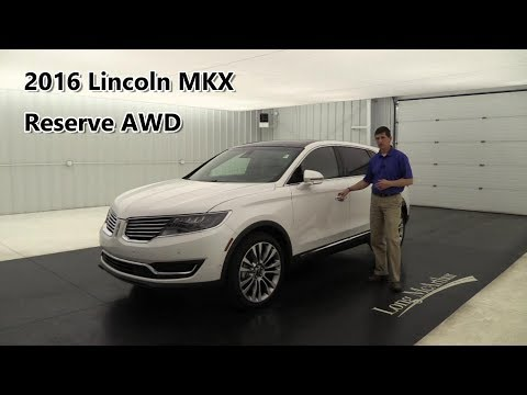 2016 Lincoln MKX Reserve AWD Technology Driver Assist Luxury Climate Packages