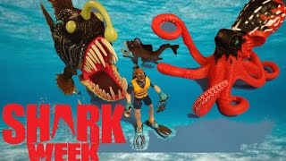 Shark Week!  Animal Planet Deep Sea Adventure Encounter