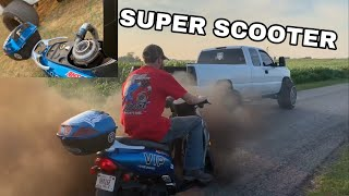1200hp Duramax VS 13cc moped