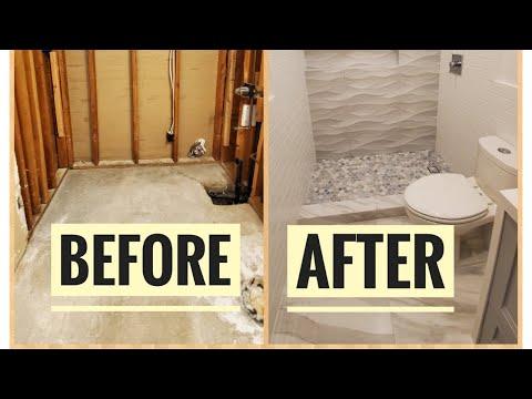 2 DAY BATHROOM REMODEL - Bath tub into a shower