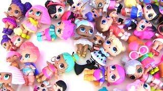 Куклы Лол LoL Surprise Моя коллекция  ЛОЛ #Видео для детей! Мультик с игрушками!