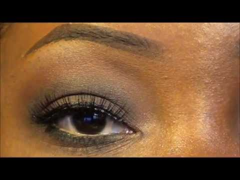 How To: Brown Smoky Eye For Dark Skin