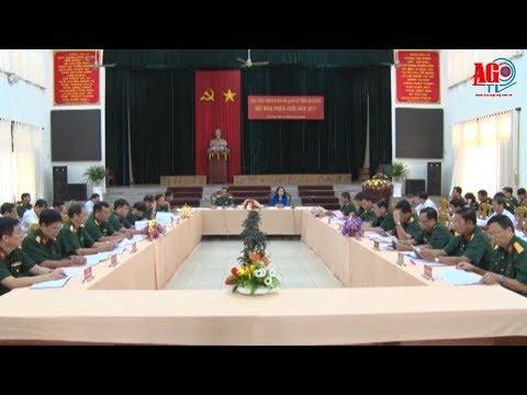Ban Chấp hành Đảng bộ Quân sự tỉnh triển khai phương hướng lãnh đạo thực hiện nhiệm vụ quân sự, quốc phòng địa phương năm 2018