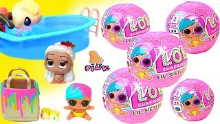 #ЛОЛ Шарики с Сюрпризом LOL Little Baby Dolls Eye Spy Wave 2 Куклы ЛОЛ Сестренки - Шпионки Girl Toys