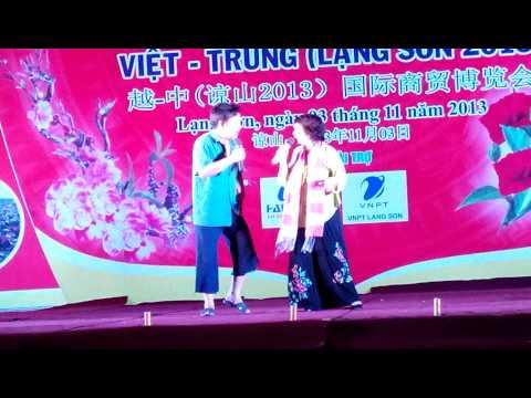 Quang Tèo tại hội chợ lạng sơn