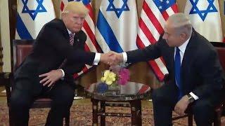 Trump Meets Israeli Prime Minister Benjamin Netanyahu