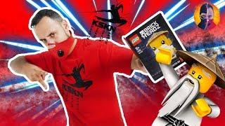 ПАПА РОБ КСКН и НИНДЗЯГО: сборка Лего Мастера ВУ и новые приключения! Ниндзя Хэй!