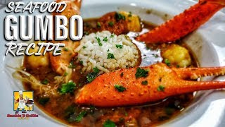 Seafood Gumbo Recipe | #SoulFoodSunday