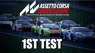 Assetto Corsa Competizione 1st Play