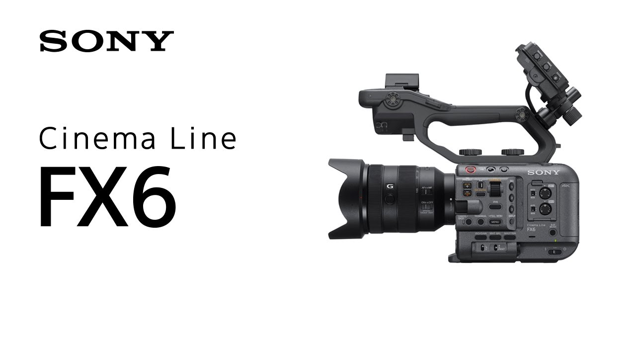 גוף מצלמה Sony FX6 Full-Frame Cinema