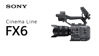 YouTube Video XukIzJs6iY4 for Product Sony Cinema Line FX6 Camcorder (ILME-FX6) by Company Sony Electronics in Industry Cameras