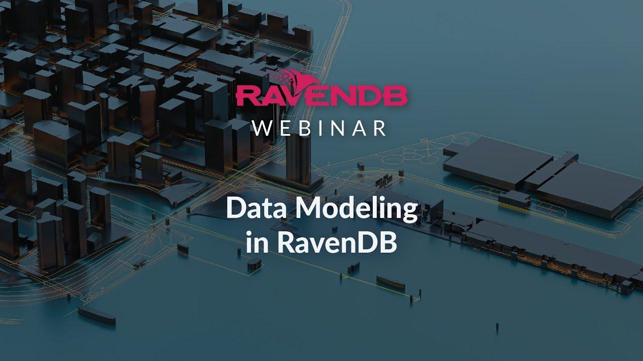 Data Modeling in RavenDB