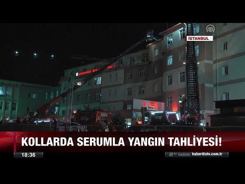 Hastanede yangın paniği! - 6 temmuz 2017