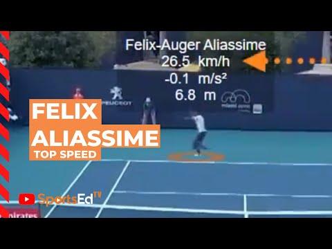 Felix Auger Aliassime's Incredible Movement Speed | SportsEdTV