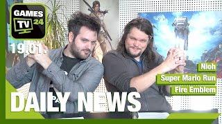 EA Play 2017, Swatting-Urteil, Nioh, Super Mario Run Android | Games TV 24 Daily - 19.01.2017