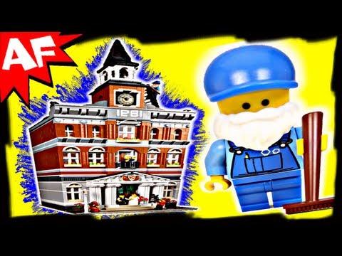 Vidéo LEGO Creator 10224 : La mairie