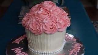 How I Make My Giant Cupcake