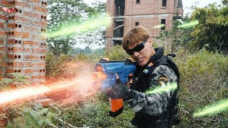 Banana TV : Ultimate Squad Skill Nerf Guns Fight High-tech Crime NERF WAR