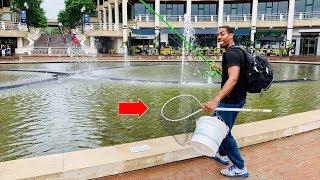 INSANE URBAN FISHING FOR HUMONGOUS CATFISH!!! (SKETCHY)