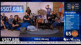 Ray Narvaez Jr donates 10K during RT Extra Life 2017