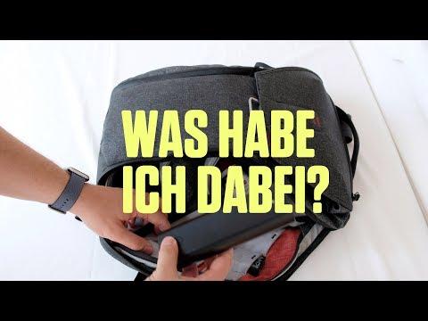What's in my (tech) Bag? – Peak Design Everyday Backpack in der Praxis