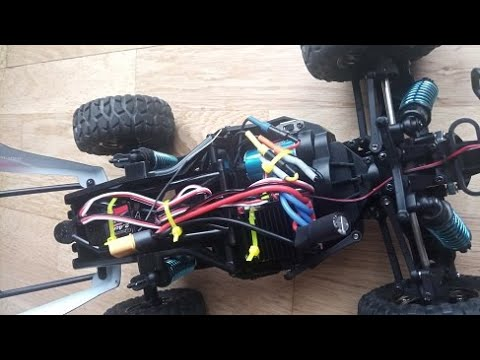 Subotech BG1520 Goddess brushless conversion from Banggood