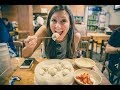 BEST Dumplings in Seoul?! Exploring Myeong-dong District!