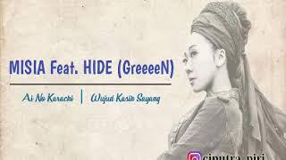 MISIA feat. HIDE (GreeeeN) - Ai No Katachi_Lirik dan terjemahan