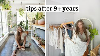 how I QUIT fast fashion & YOU CAN TOO!