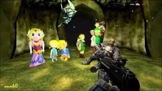 Gmod Nyan Cat Gun. Skyrim Dragon. Goldeneye Shizz