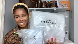 Double COACH HANDBAG UNBOXING| Switching Things Up A Little| DESIGNER Handbags 2020